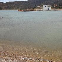 Die Lagune von Rivari...