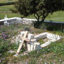 Amorgos: Friedhof bei Agia Paraskevi