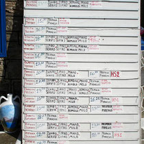 Kythnos: Fährplan