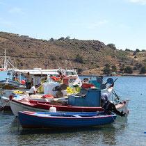 Noch reichlich Fischer unterwegs