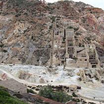 Letzter Blick auf die Ruinen