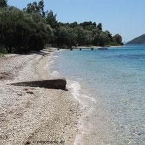 Am Strand von Agios Ioannis