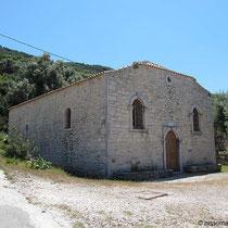Die Kapelle von Agios Ioannis