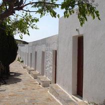 Amorgos: Zellen bei Agia Paraskevi