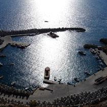 Kreta: Der neue Hafen von Chora Sfakion
