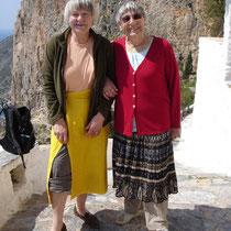 Amorgos: Kloster Chozowiotissa - ohne Rock geht nix