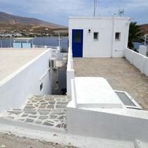 Der obere Balkon, Ausgang zum Strand