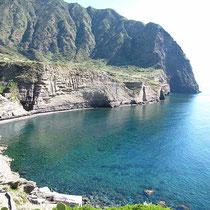 Küste bei Pollara