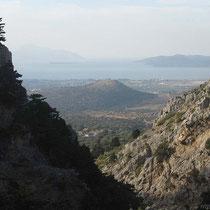Blick auf die Nordküste von Kos