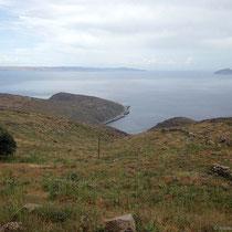 Und der Blick nach Kythnos