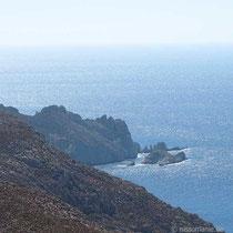 Felsen am Kap Pelekousa