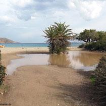 Am Strand bei Itanos