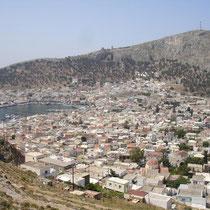 Kalymnos: Blick auf Pothia