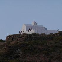 Auch an der Kapelle Mesa Panagia.
