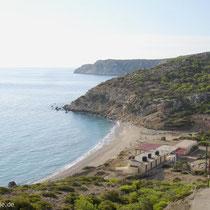 Gavdos: Korfos-Strand