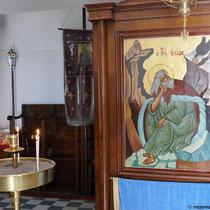 In der Kirche des Profitis Ilias
