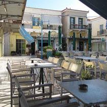 Café an der Platia Karamanou