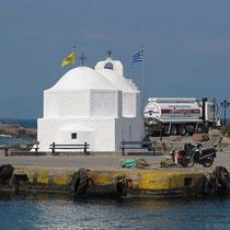 Nikolos-Kapelle am Hafen