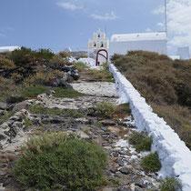 Noch ein paar desolate Stufen hinauf....