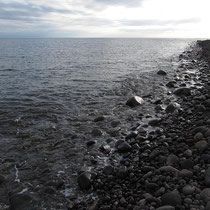Der Strand von Perciato