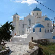 Evangelistria-Kirche und Ekaterini-Kapelle
