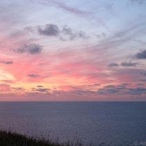 Aber der Sonnenuntergang ist auch schön!