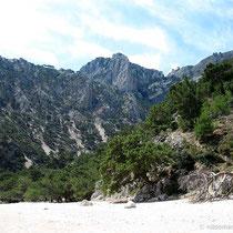 Die Berge des Kali-Limni.-Massives