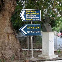 Der Weg zum Stadion