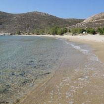 Am Strand von Psili Ammos