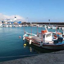 Am Hafen von Chios