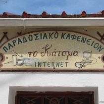 Mit Internet-Café