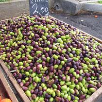 Oliven zum selber eingelegen