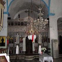 in der Agia Irini-Kirche