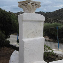 Antikes korinthisches Kapitell