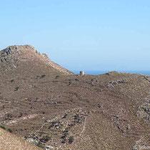Windmühlenstumpf oberhalb von Livadia