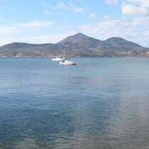 Das Binnenmeer mit meinem heutigen Ziel