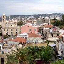 Kreta: Blick vom der Schiavo-Bastion