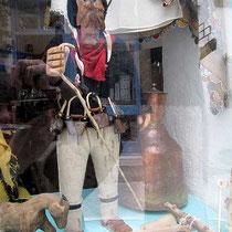 Jeros-Puppe im Schaufenster