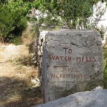 Zu den Wassermühlen