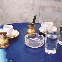 Serifos. Griechischer Kaffee