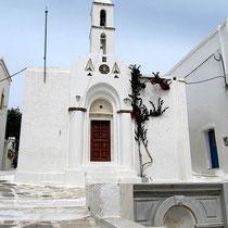 Kapelle mit tiniotischem Dekor