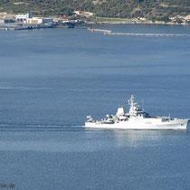 Die Marine sticht in See: Forschungsschifff HMS Enterprise