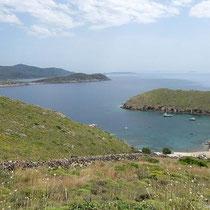Die Bucht von Keramidou