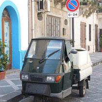 Dreirad im Parkverbot
