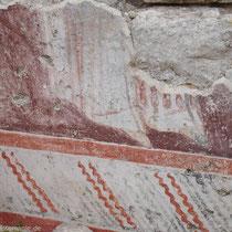 Chalki: Fresko der Nikolaos-Kirche im Kastro