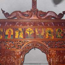 Ikonostase in der Panormitis-Kirche