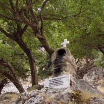 Kreta: Ikonostasi in der Imbros-Schlucht