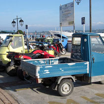 Parkplatz an der Paralia