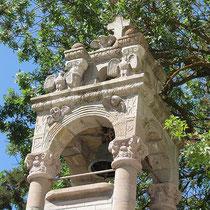 Glockenturm von Agios Ioannis Theologos