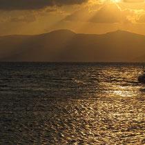 Paros_ Profitis Ilias im goldenen Licht